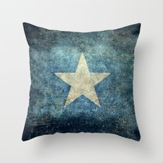Somalian National Flag -… Throw Pillow