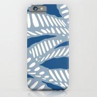 Al Peas: Blue Tonal iPhone 6 Slim Case