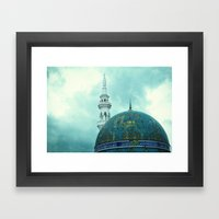 Malaysian Mosques Framed Art Print