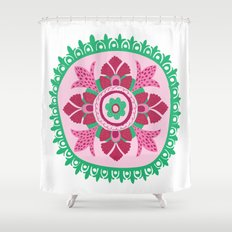 Suzani III Shower Curtain