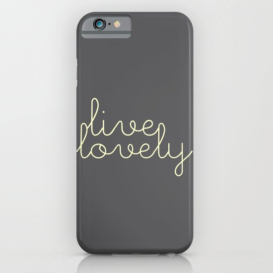 live lovely iPhone & iPod Case