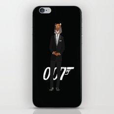 Tiger Bond iPhone & iPod Skin
