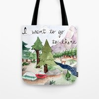 I Want To Go To There Tote Bag