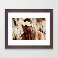 Hawaiian Girl Framed Art Print