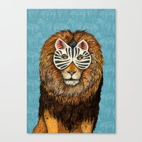 ZebraLion Canvas Print