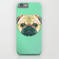 iPhone & iPod Case featuring Pug is here by Pigtails