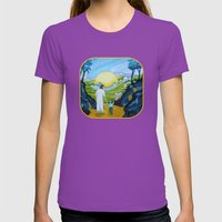 In My Father's House Womens Fitted Tee Ultraviolet SMALL