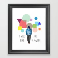 I'll Find Framed Art Print