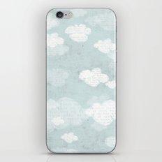 SUMMER CLOUDS iPhone & iPod Skin