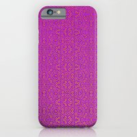 iPhone & iPod Case featuring Purple Tribal Pattern by Peter Gross