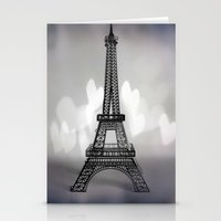 La Ville De L'amour Stationery Cards