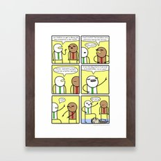 Antics #340 - a new beginning Framed Art Print