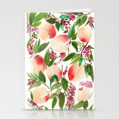 Peach  Stationery Cards