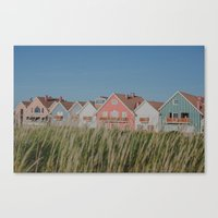 Stripes Row Canvas Print