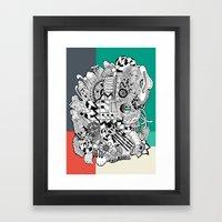 Orden Inverso Framed Art Print