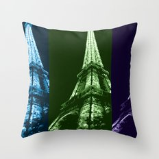 Triple tower Throw Pillow