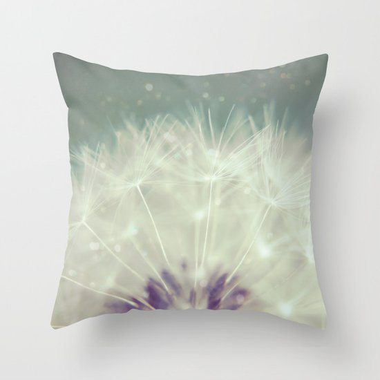 fluff throw pillow by scarlet society6. Black Bedroom Furniture Sets. Home Design Ideas