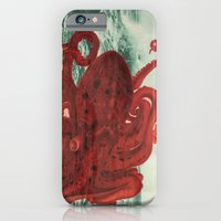 Octopus Beach iPhone & iPod Case
