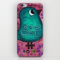 Fly free birdie iPhone & iPod Skin