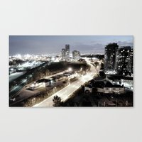 Westward Canvas Print