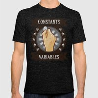Constants & Variable Mens Fitted Tee Tri-Black SMALL