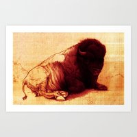 The Resting Of The Force Art Print