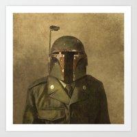 General Fettson (square … Art Print