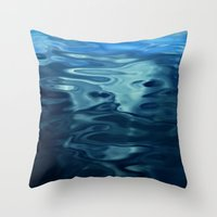 Water / H2O #50 Throw Pillow