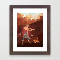 Feral Framed Art Print
