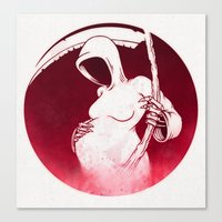 Death and Life Canvas Print