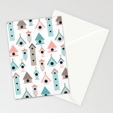 Birdhouses Stationery Cards