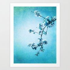BLUE SPRING Art Print