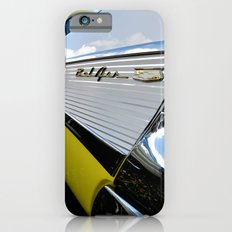 Yellow Classic American Muscle Car Belair  iPhone 6 Slim Case