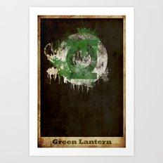 Lantern Logo Art Print