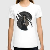 alien T-shirts featuring Alien by Vaahlkult