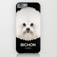 iPhone Cases featuring Bichon, Paris by mOng