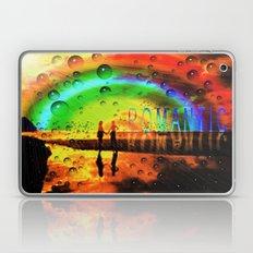 Romantic Sunset Reflections and Rainbow Laptop & iPad Skin