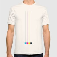 hanging cmyk  Mens Fitted Tee Natural SMALL