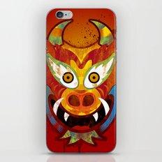 Yare Devil Mask iPhone & iPod Skin