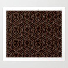 Tribal Pattern 1-1 Art Print