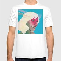 Classy- Kristen Bell Mens Fitted Tee White SMALL
