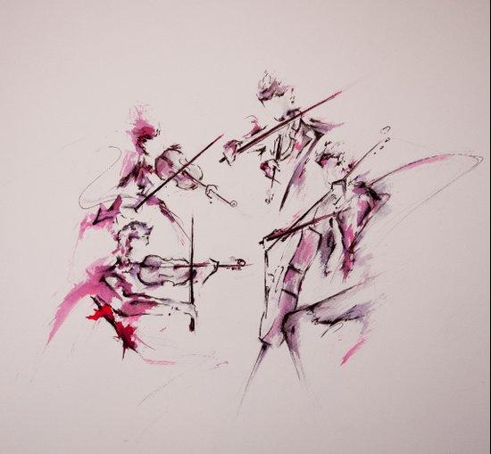 Quartet Canvas Print