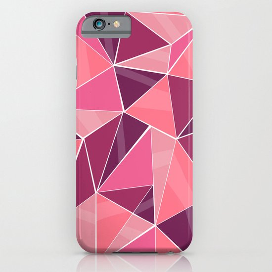 Pattern, pink iPhone & iPod Case