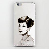 Hepburn iPhone & iPod Skin