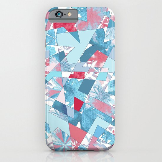 Shattered Floral iPhone & iPod Case