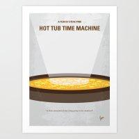 No612 My Hot Tub Time Ma… Art Print