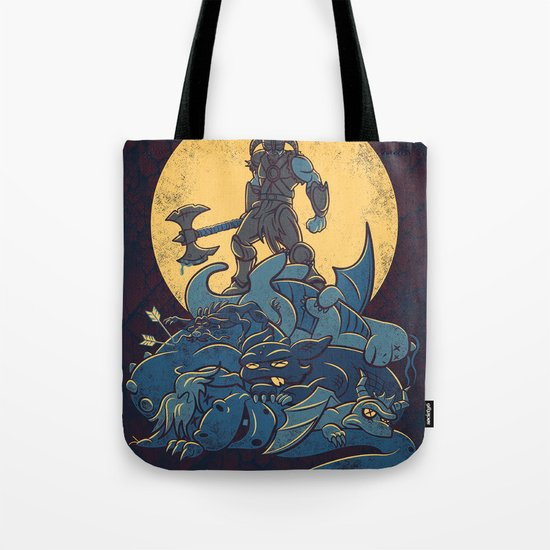 The Dragon Slayer Tote Bag