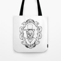 Gilles The Dapper Schnau… Tote Bag