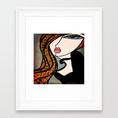 Lady Zen Make Over Framed Art Print