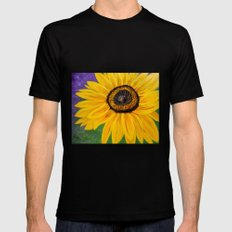 Color of the sun Mens Fitted Tee Black SMALL